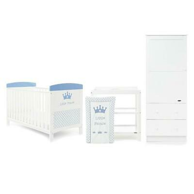 Obaby Grace Inspire 3 Piece Room Set (Little Prince) Nursery Furniture