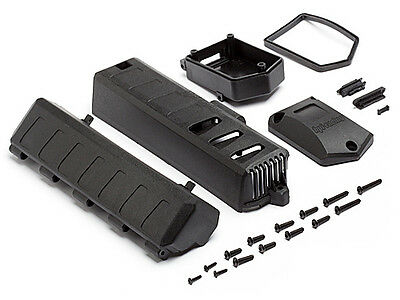 Hpi 105690 Battery Cover/receiver Case Set [Chassis Parts] New Genuine Part!