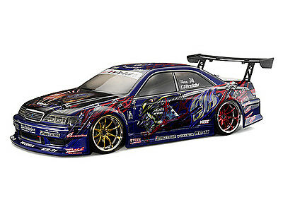 106165 Hpi Sprint 2 Flux 911 Gt3 Rs [#30717] Jzx100 Toyota Mark Ii Body [Clear]