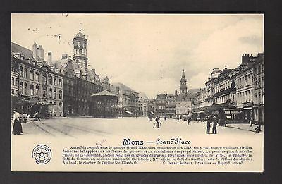 MONS - Grand'Place (1912)
