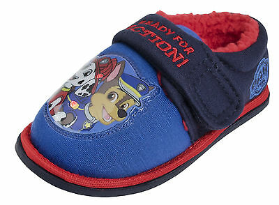 Boys Paw Patrol Flashing Light Up Slippers Mules Shoes Chase Marshall Kids Size