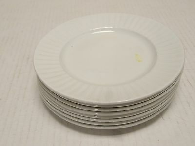 8  Alfred Meakin Leeds Pattern BREAD BUTTER PLATES Tradtional Ironstone England