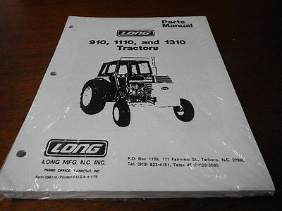 Long landtrac 330 hst 390 hst tractor parts catalog book manual long 910 1110 1310 tractor parts catalog manual book new ccuart Choice Image