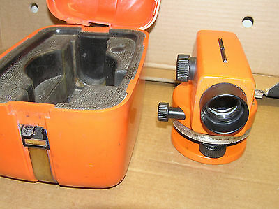 Theodolite Wild Heerbrugg Nak 0 With Original Case 524415 Surveyors Tool