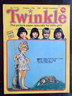 Twinkle Comic 17 October 1981 No. 717 Vfn+  Lovely Comic