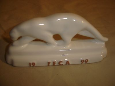 Frankoma FFCA 1999 White Walking Puma Frankoma USA Ada clay. 9728