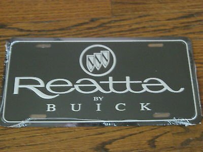 Buick Reatta License Plate - New Sealed