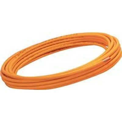 Mueller Industries P38100 Coated Copper Tubing, Orange, 3/8 In. Od X 100 Ft. NEW