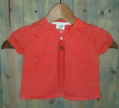 Carters Coral Cardigan Size 24 Months
