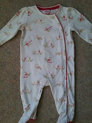 TED BAKER BABY GIRL BABYGRO Age 3-6 months.FAB CONDITION  Hardly Worn GORGEOUS