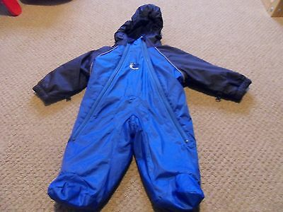 Bush Baby Waterproof Suit Age 0 - 6 Months Baby All In One Snowsuit Padded