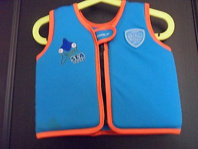 Speedo Sea Squad Boys Swimming / Swim Vest Age 1 - 2 Years Old / 12 - 24 Months