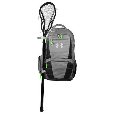 Under Armour Lacrosse Backpack Equipment Bag - Graphite