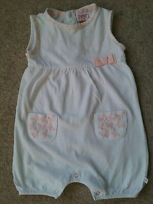 TED BAKER BABY GIRL ROMPER Age 6-9 months.FAB CONDITION Spotlessly Clean