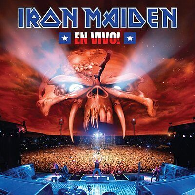 Iron Maiden - En Vivo! - New Vinyl Lp