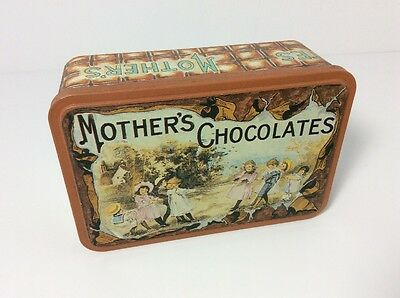 "Vintage Tin Phillips Candy House Boston Mass ""Mother's Chocolates"" Very Nice"
