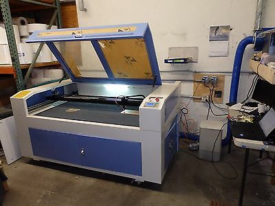 "Lasea CO2 Laser Engraving Cutting Machine 80W Tube, 33"" x 56"" Cutting Area, B7"