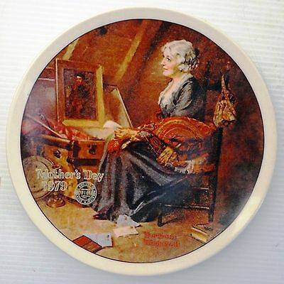 COLLECTIBLE PLATE Rockwell Reflections 4th 1979