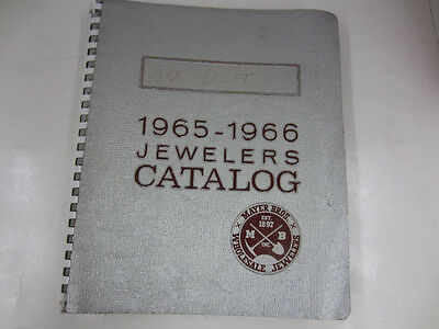 Vintage 1965-1966 MAYER BROS JEWELERS CATALOG Seattle rings, charms ,watches etc