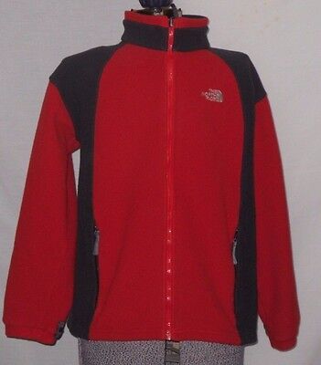 Youth The North Face Red/black Jacket Euc Size Xl
