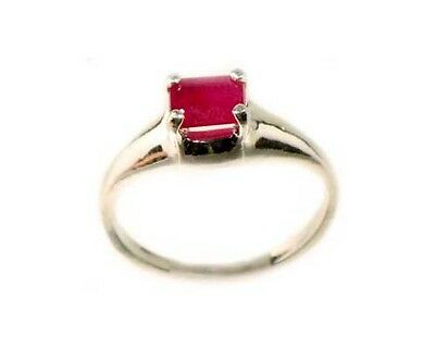Antique 19thC 2/3ct Ruby Medieval Shaman Divination Danger Close Talisman Ring