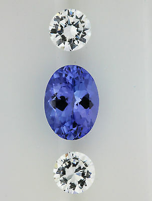 NATURAL 0.86ct!!  TANZANITE EXPERTLY FACETED IN GERMANY +CERTIFICATE AVAILABLE