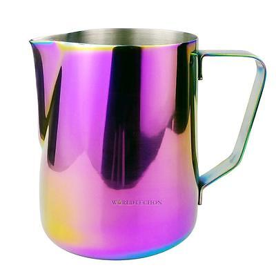 600ml Stainless Steel Espresso Coffee Pitcher Craft Latte Milk Frothing Jug Cup