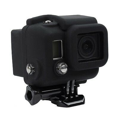 Neewer Silicone Soft Case Cover Skin Black for GoPro HD Hero 3