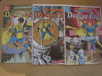 The IMMORTAL DOCTOR DR FATE : COMPLETE 3 ISSUE 1985 DC series by PASCO, SIMONSON