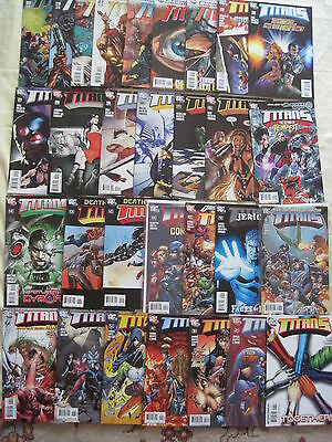 (TEEN)  TITANS : #s 1 - 30 COMPLETE of the 2008 DC SERIES by WINICK, YOST etc