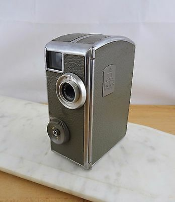 Vintage Pentacon AK8 8mm Movie Camera Carl Zeiss Jena Lens Made in Germany 1950s