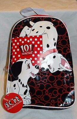 """New With Tag Disney 101 Dalmatians Small Backpack 9""""x12"""""""