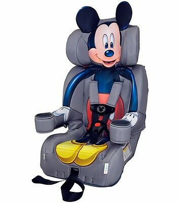 KidsEmbrace Combination Booster Car Seat - Mickey Mouse Brand New! Free Ship!