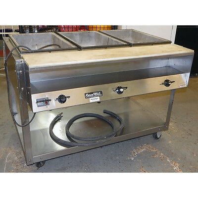 Vollrath ServeWell Steam Table Stainless Steel NFC Model No. 33003
