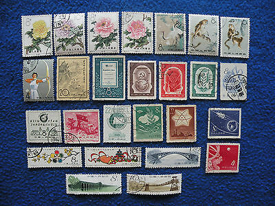 P.R.China Stamp Collection Used ( 6 )