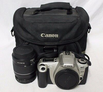 Canon Rebel 2000 EOS SLR Film Camera w/ 28-80mm Lens and Bag