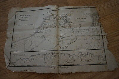 Lot of 2 Old Maps of Algeria Algiers