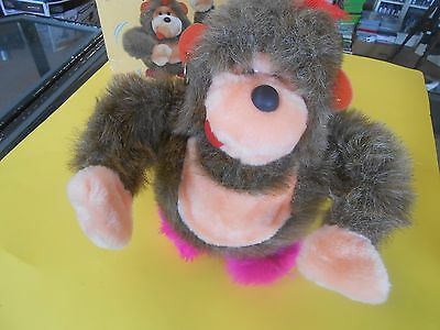1986 metro toy Boogie Bear sound activated dancing bear.
