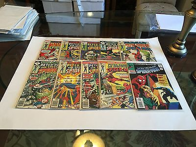 Spectacular Spider-Man Lot 1--Issues -1,1,2,3,4,5,6,7,8,9