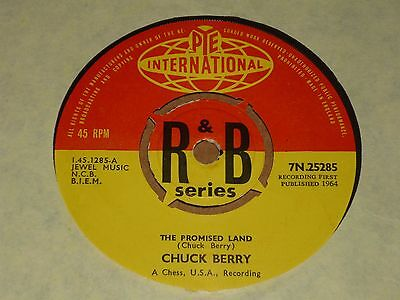 "Chuck Berry ""The Promised Land"" Pye International 45"