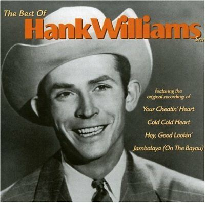 Hank Williams Snr The Best Of Cd Country Folk New