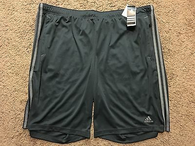 NWT Men's Big & Tall Adidas Essential Climalite Performance Shorts 3XLT