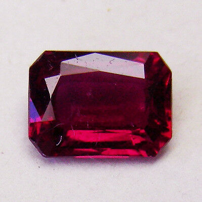 0.70ct!! NATURAL RUBY EXPERTLY FACETED IN GERMANY +CERTIFICATE AVAILABLE