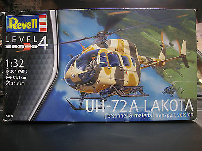 Revell Germany 1/32 Uh-72A Lakota Helicopter  #04927 **