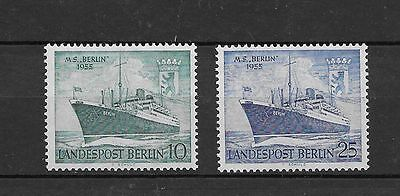 Germany Berlin Sc# 9N113-4 Mnh Stamps