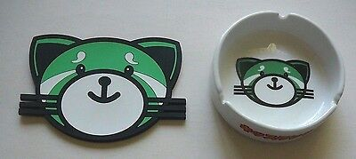 The Weeknd Rare Ceramic Ashtray And Drink Coaster  C@@l Kitty  Artwork