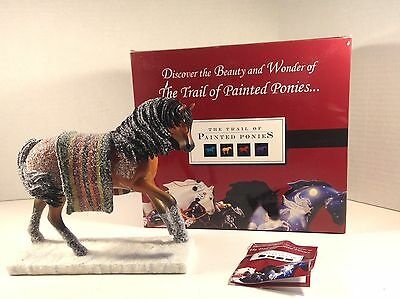 Trail Of Painted Ponies WOUNDED KNEE 1E 0989 NIB **LOW NUMBER**