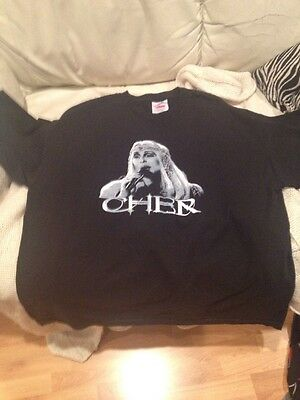 New ? Tennessee River Cher Farewell Tour 2003 Concert Bling T Shirt XL