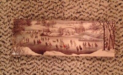 Vintage Avon Christmas Winterscapes Soap Gift Box 2 3 Oz Fragranced Bars