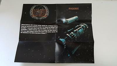 1996 Star Trek First Contact Blue print S3 Phoenix NM/Mint condition